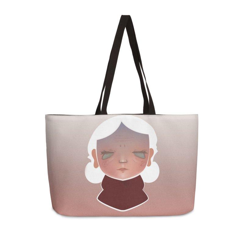 the wize (light) Accessories Weekender Bag Bag by soymeeshii's artist shop