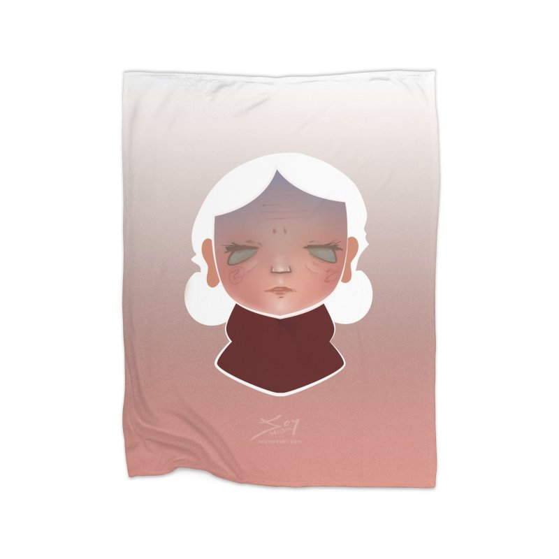 the wize (light) Home Blanket by soymeeshii's artist shop