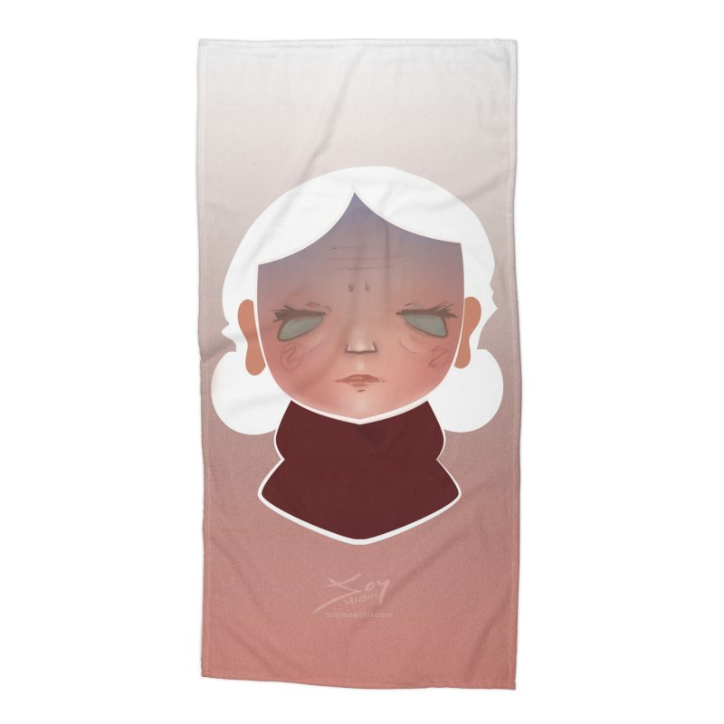 the wize (light) Accessories Beach Towel by soymeeshii's artist shop