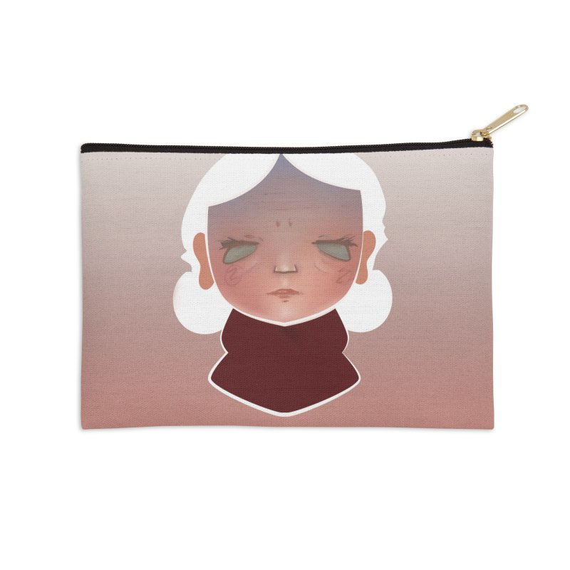 the wize (light) Accessories Zip Pouch by soymeeshii's artist shop
