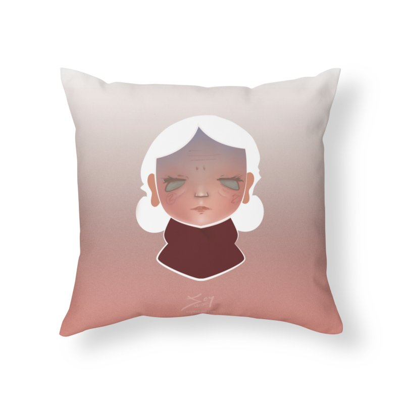 the wize (light) Home Throw Pillow by soymeeshii's artist shop