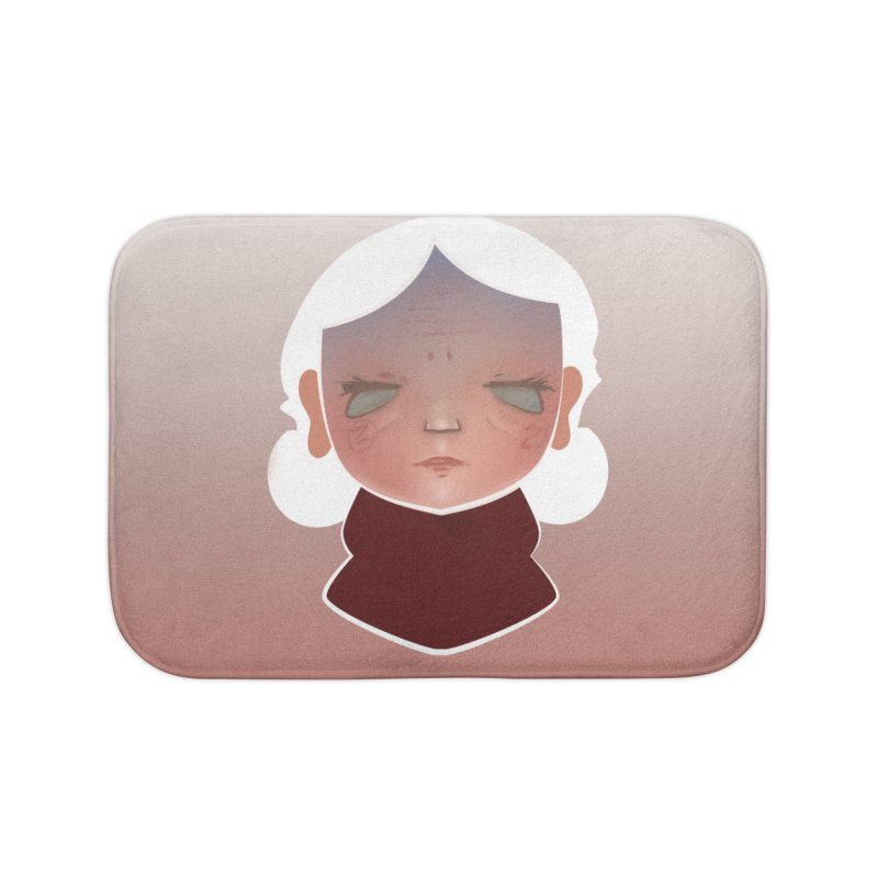the wize (light) Home Bath Mat by soymeeshii's artist shop