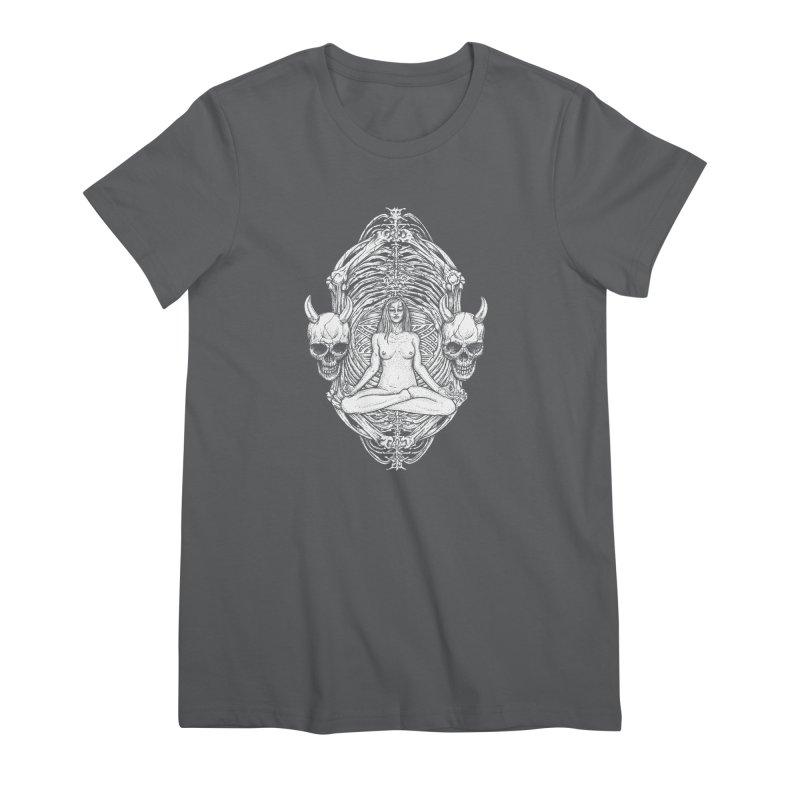 THE KISS OF DETH Women's Premium T-Shirt by Sp3ktr's Artist Shop