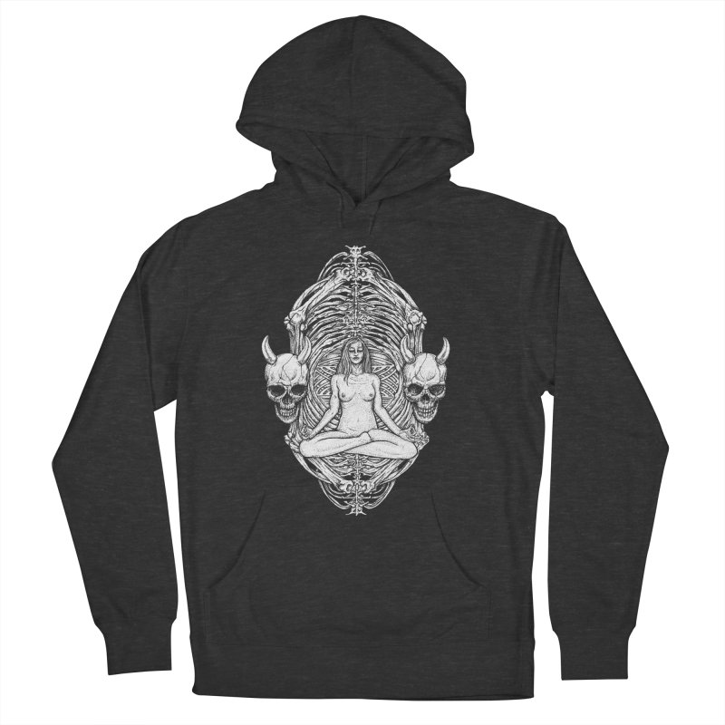 THE KISS OF DETH Women's French Terry Pullover Hoody by Sp3ktr's Artist Shop