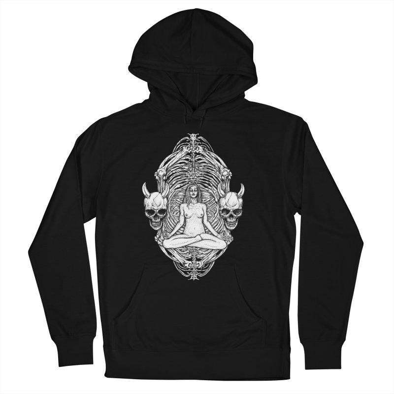 THE KISS OF DETH Men's French Terry Pullover Hoody by Sp3ktr's Artist Shop