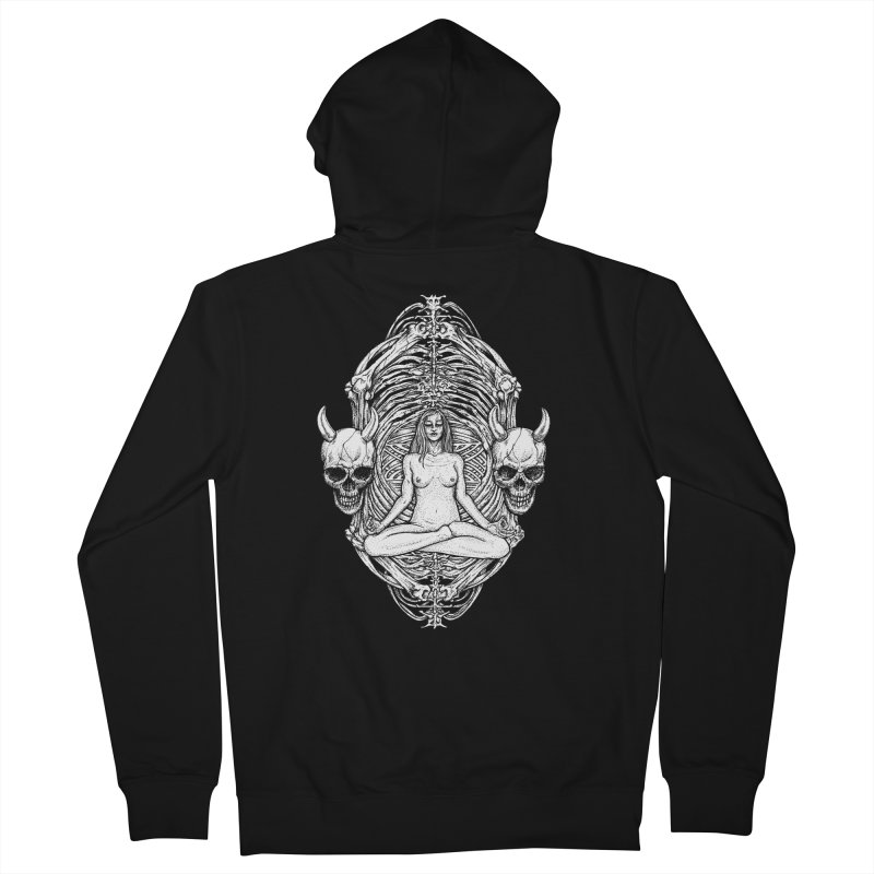 THE KISS OF DETH Men's French Terry Zip-Up Hoody by Sp3ktr's Artist Shop