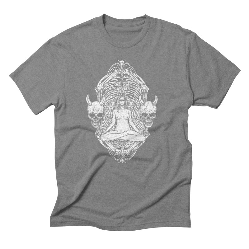 THE KISS OF DETH Men's Triblend T-Shirt by Sp3ktr's Artist Shop