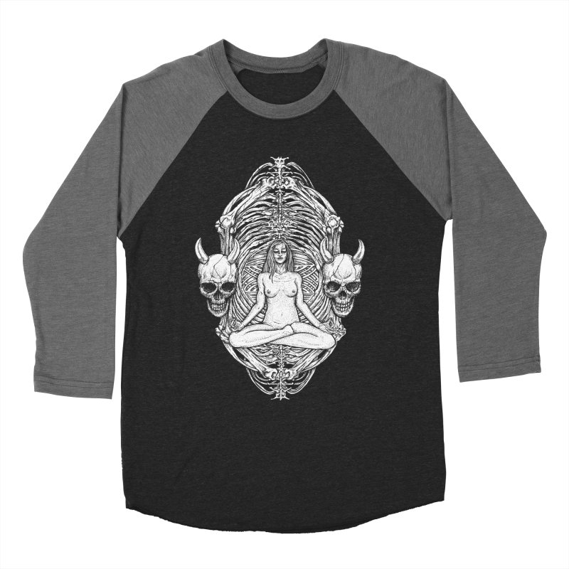 THE KISS OF DETH Men's Baseball Triblend Longsleeve T-Shirt by Sp3ktr's Artist Shop