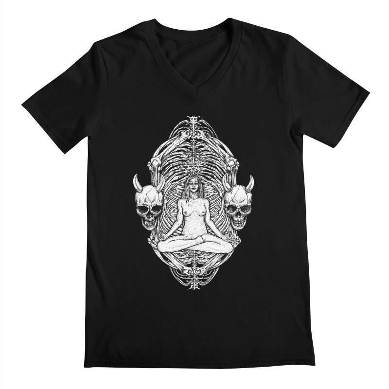 THE KISS OF DETH Men's Regular V-Neck by Sp3ktr's Artist Shop