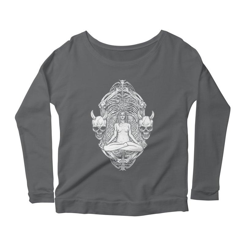 THE KISS OF DETH Women's Scoop Neck Longsleeve T-Shirt by Sp3ktr's Artist Shop