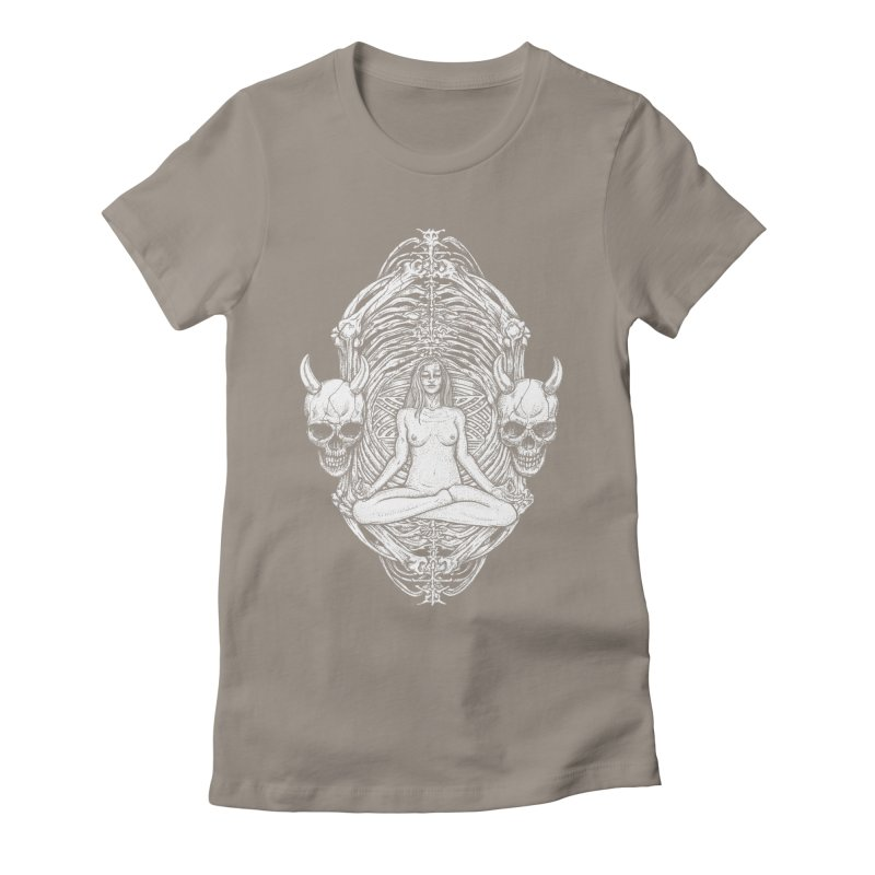 THE KISS OF DETH Women's Fitted T-Shirt by Sp3ktr's Artist Shop