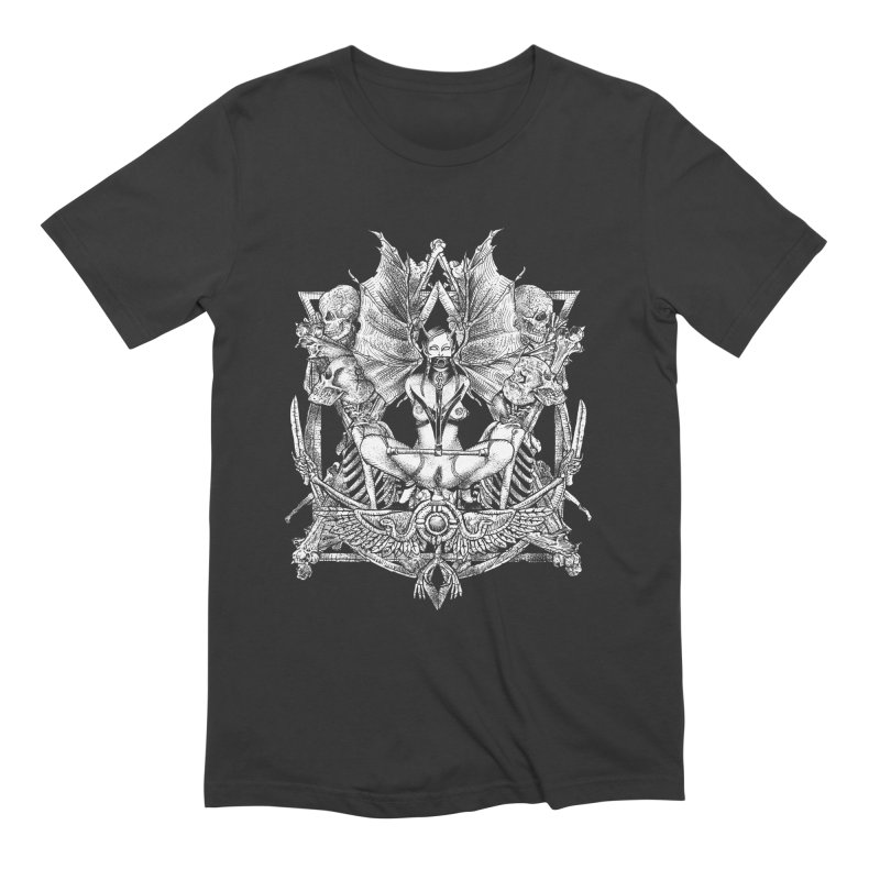 Knife skull picnic Men's Extra Soft T-Shirt by Sp3ktr's Artist Shop