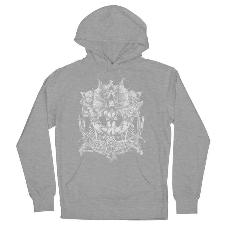Knife skull picnic Men's French Terry Pullover Hoody by Sp3ktr's Artist Shop
