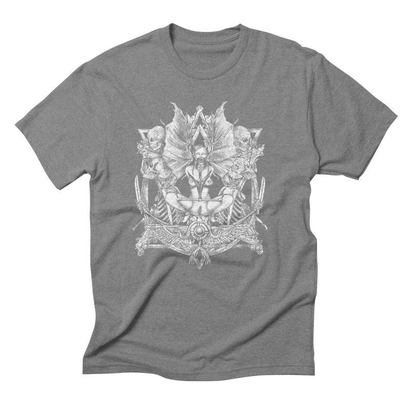 Knife skull picnic Men's Triblend T-Shirt by Sp3ktr's Artist Shop
