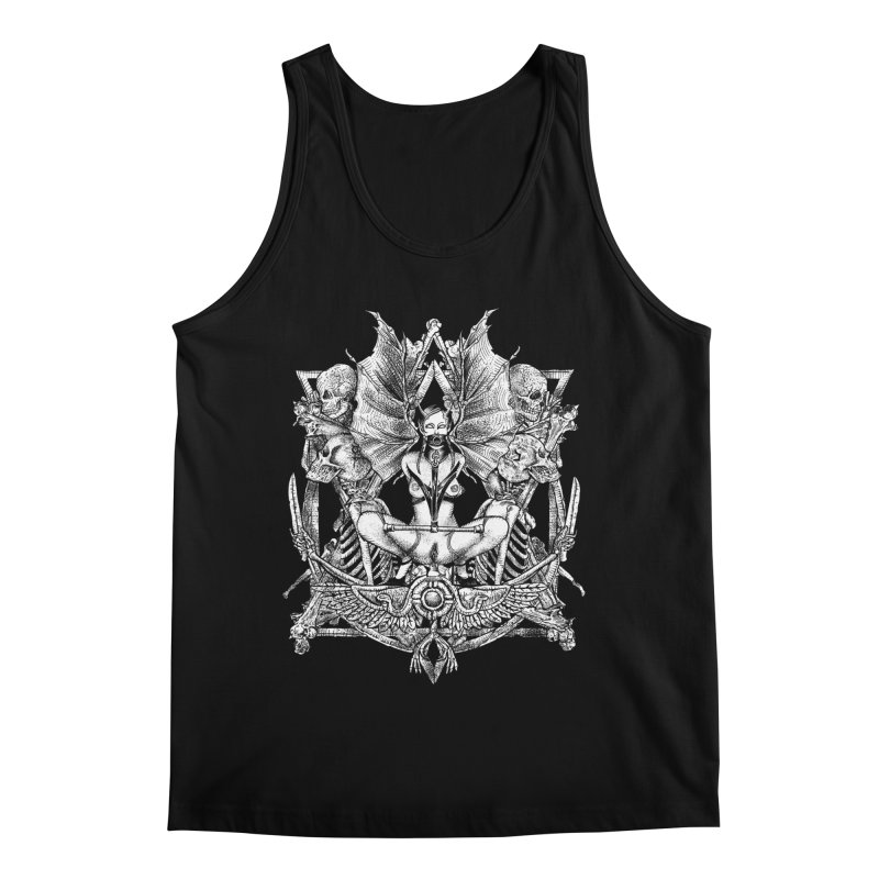 Knife skull picnic Men's Regular Tank by Sp3ktr's Artist Shop