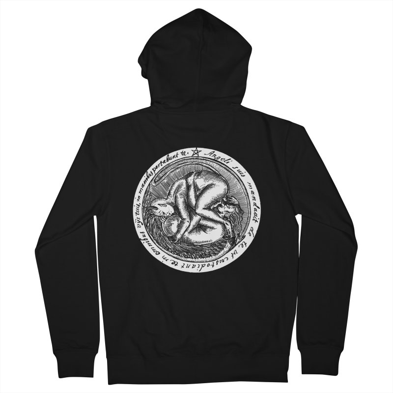 69_white Women's French Terry Zip-Up Hoody by Sp3ktr's Artist Shop