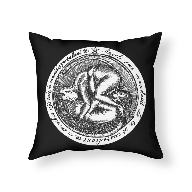 69_white Home Throw Pillow by Sp3ktr's Artist Shop