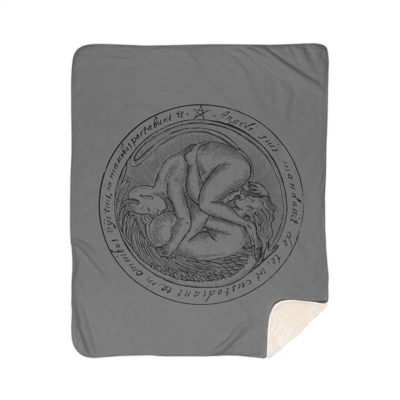 696 Home Sherpa Blanket Blanket by Sp3ktr's Artist Shop