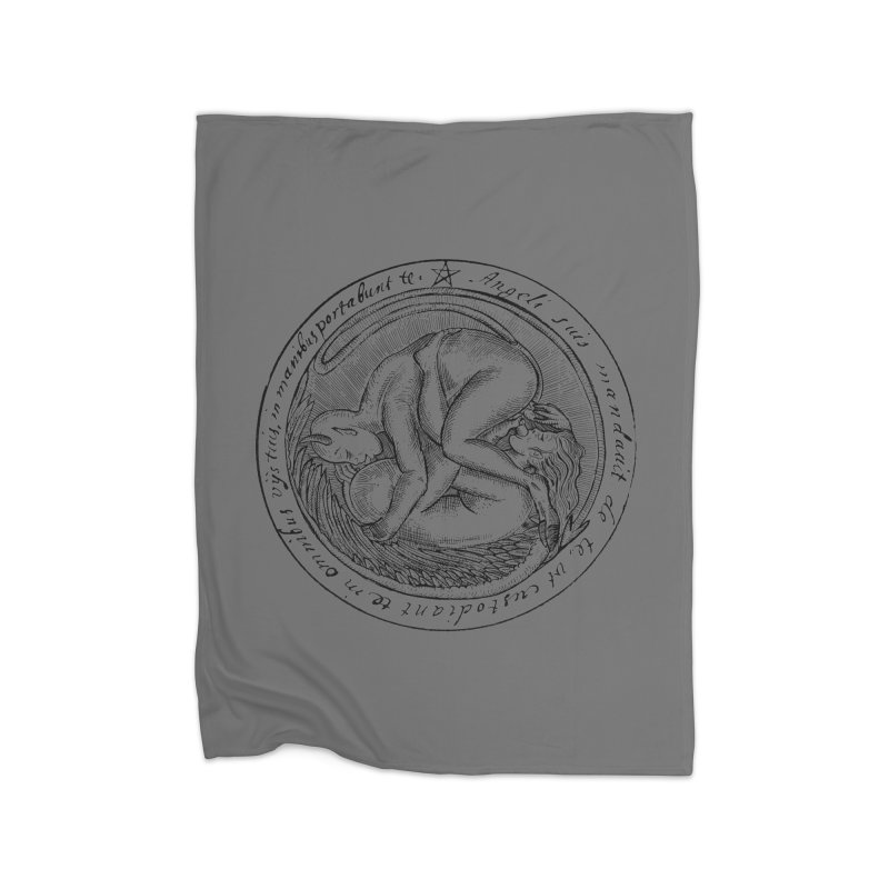 696 Home Fleece Blanket Blanket by Sp3ktr's Artist Shop