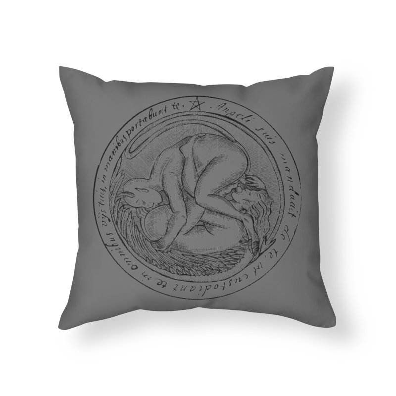 696 Home Throw Pillow by Sp3ktr's Artist Shop