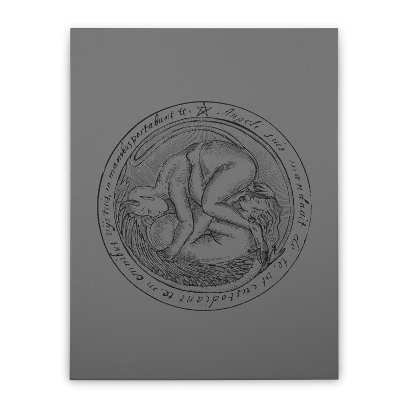 696 Home Stretched Canvas by Sp3ktr's Artist Shop