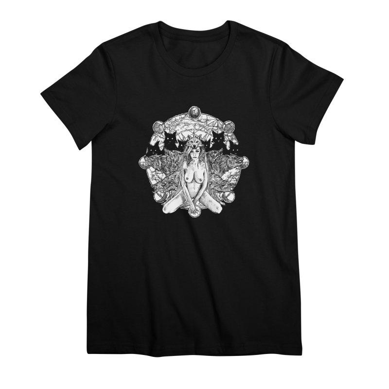company of wolves Women's Premium T-Shirt by Sp3ktr's Artist Shop