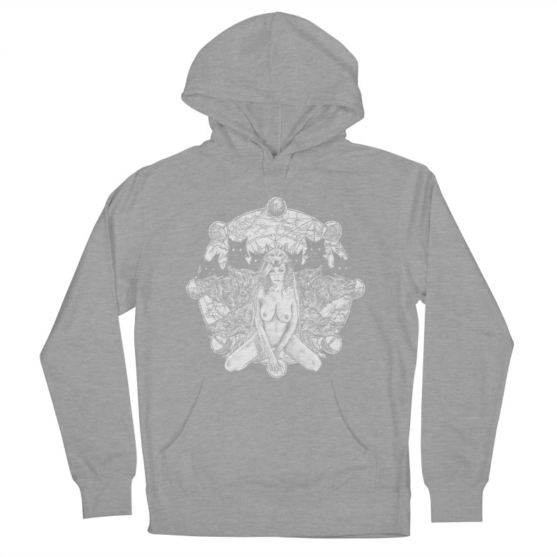 company of wolves Women's French Terry Pullover Hoody by Sp3ktr's Artist Shop
