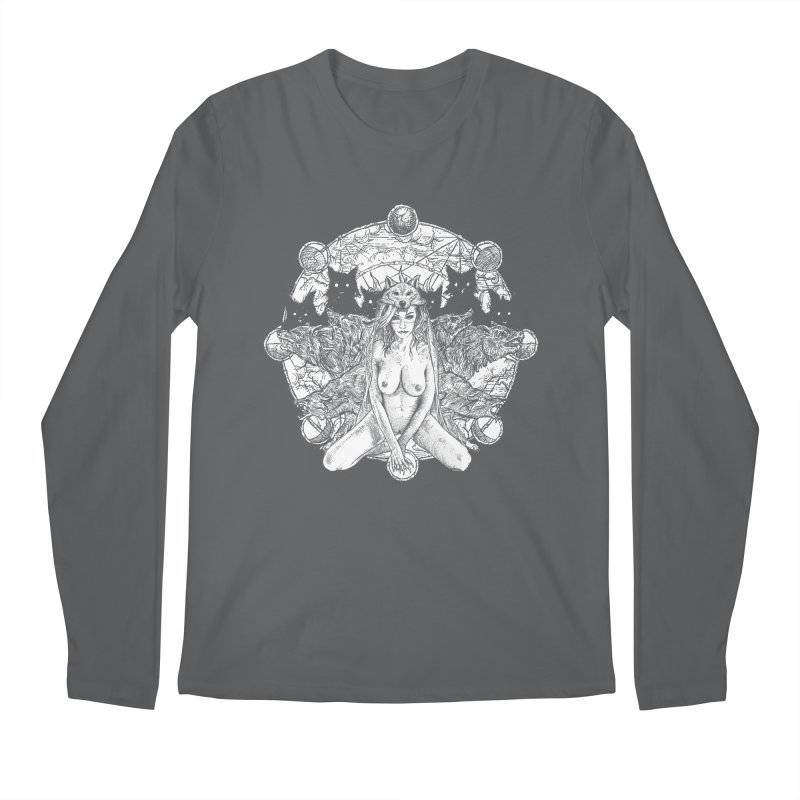 company of wolves Men's Regular Longsleeve T-Shirt by Sp3ktr's Artist Shop