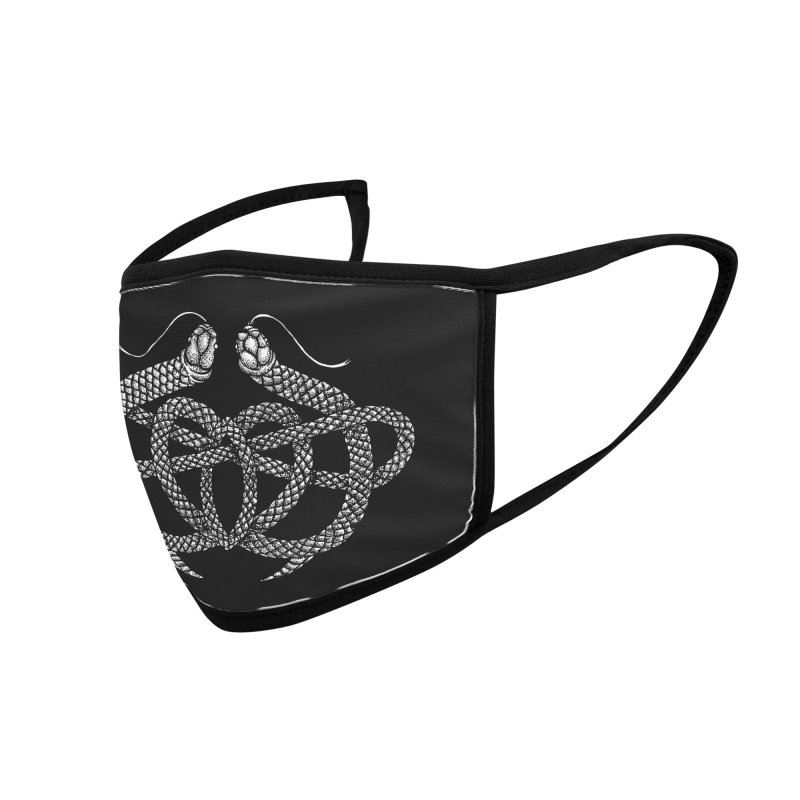 snake me knot Accessories Face Mask by Sp3ktr's Artist Shop