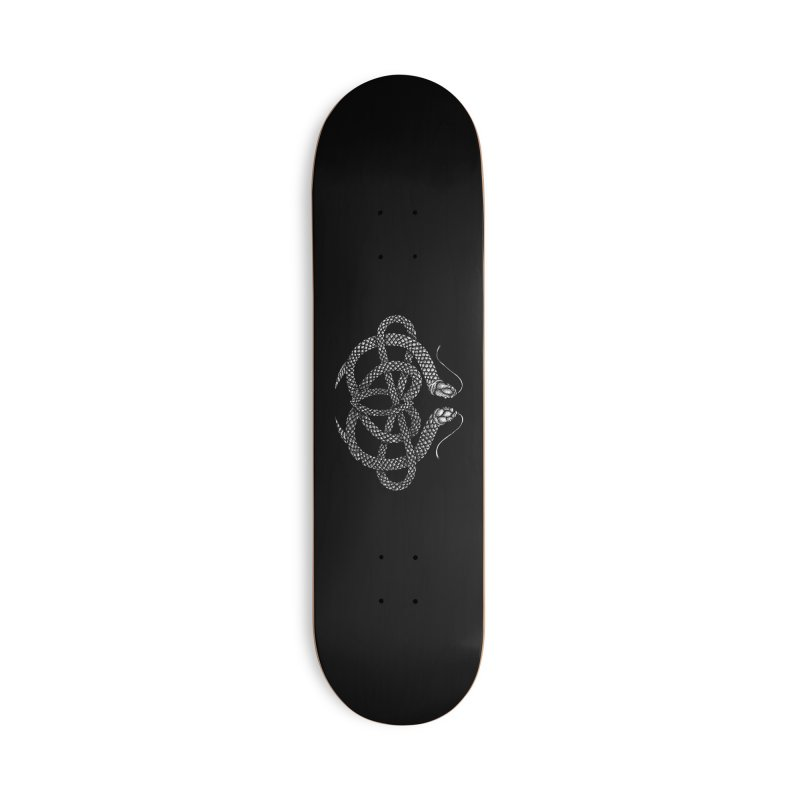 snake me knot Accessories Skateboard by Sp3ktr's Artist Shop
