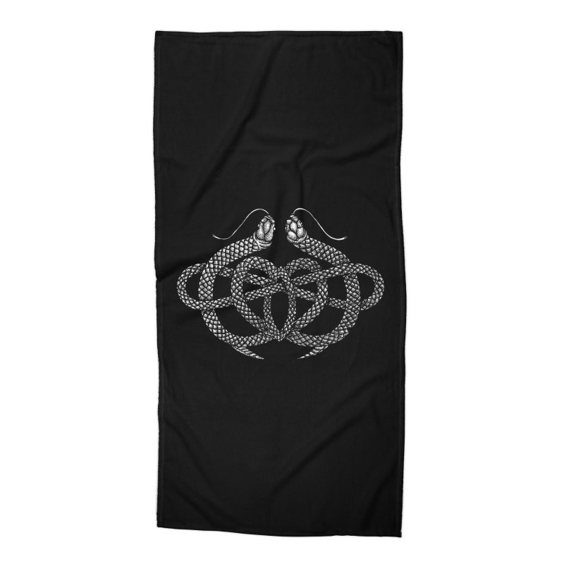 snake me knot Accessories Beach Towel by Sp3ktr's Artist Shop