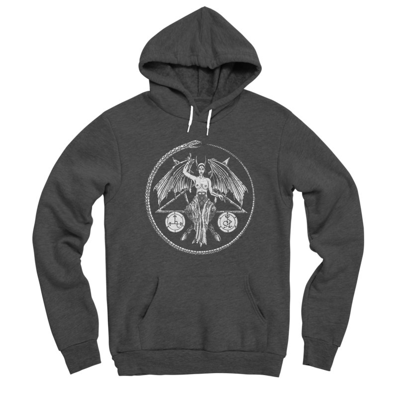Baphomet Men's Pullover Hoody by Sp3ktr's Artist Shop