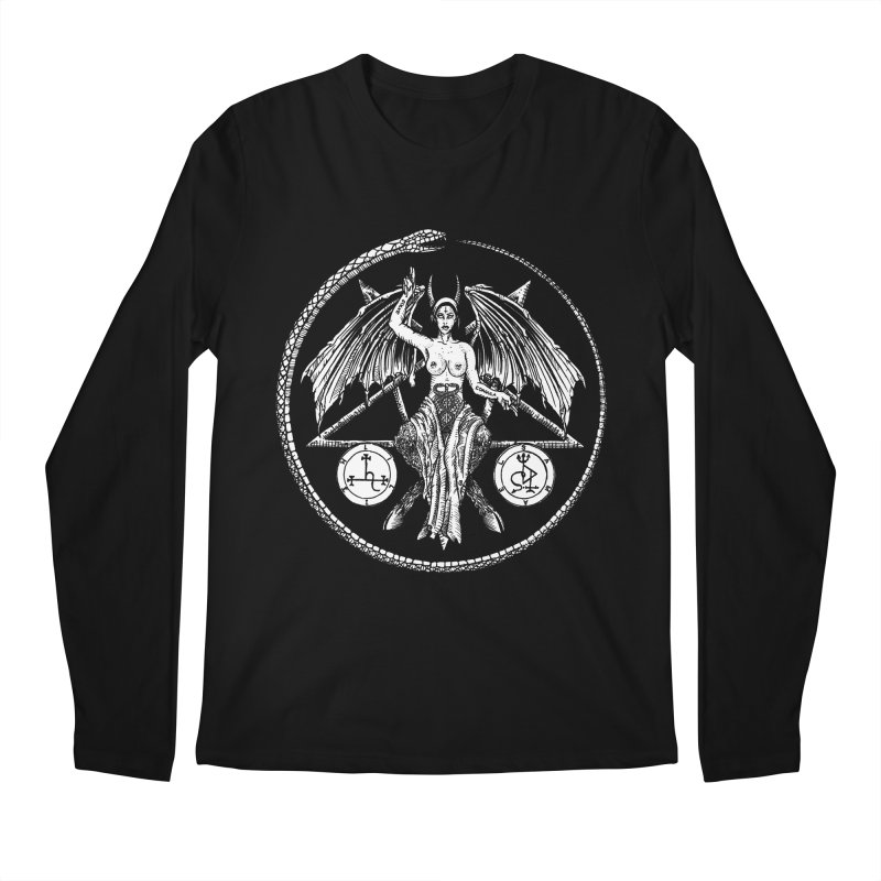 Baphomet Men's Longsleeve T-Shirt by Sp3ktr's Artist Shop