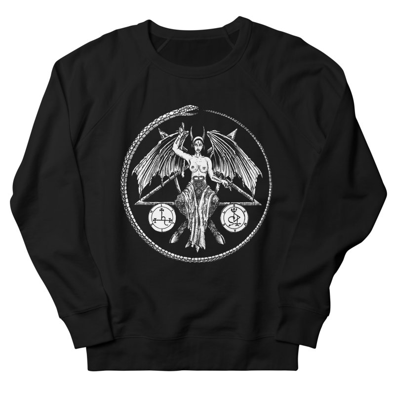 Baphomet Women's Sweatshirt by Sp3ktr's Artist Shop
