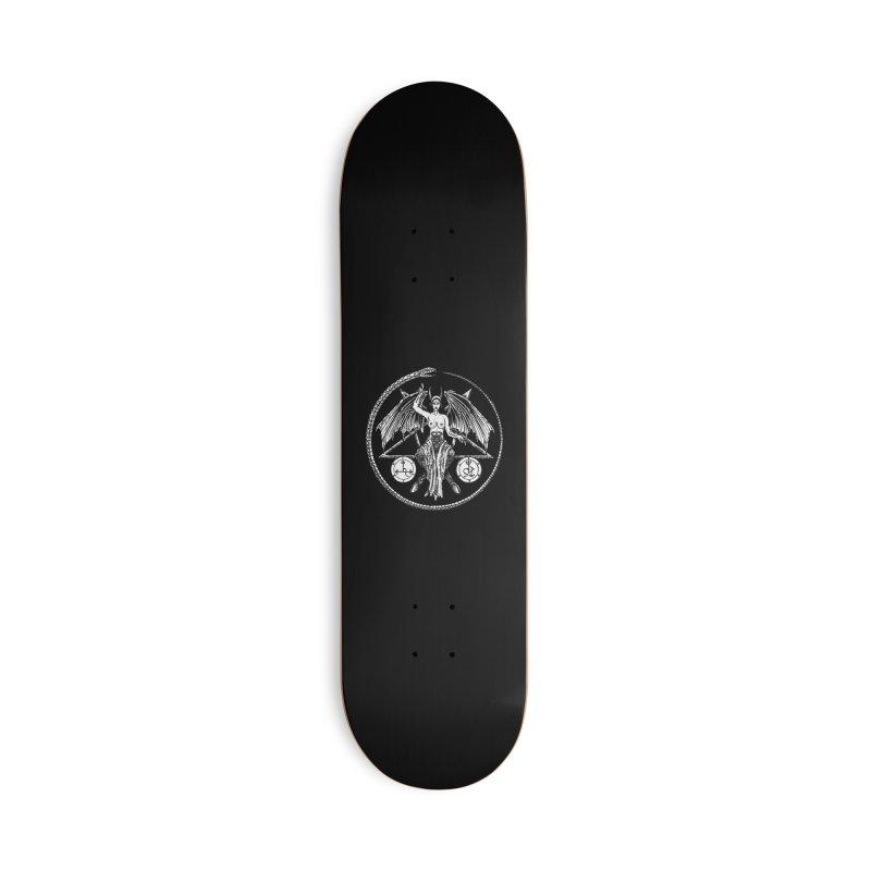 Baphomet Accessories Skateboard by Sp3ktr's Artist Shop