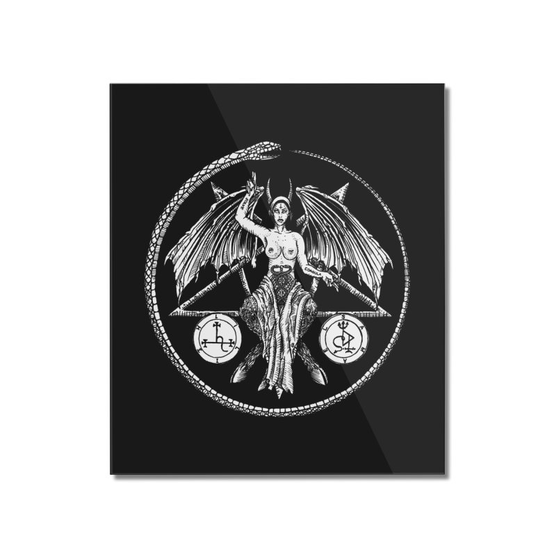 Baphomet Home Mounted Acrylic Print by Sp3ktr's Artist Shop