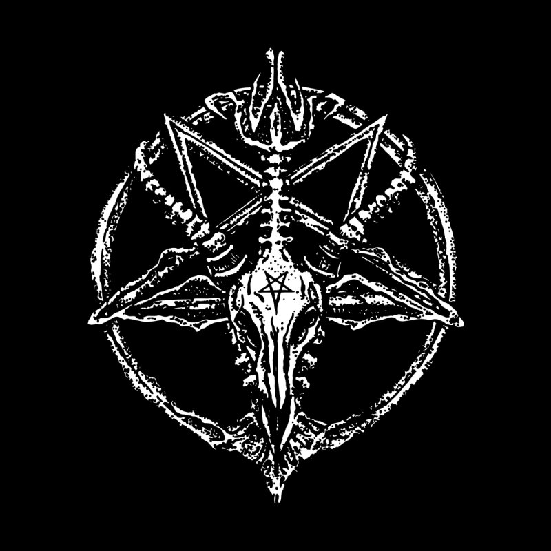 BAPHOMET_SIGIL Home Stretched Canvas by Sp3ktr's Artist Shop
