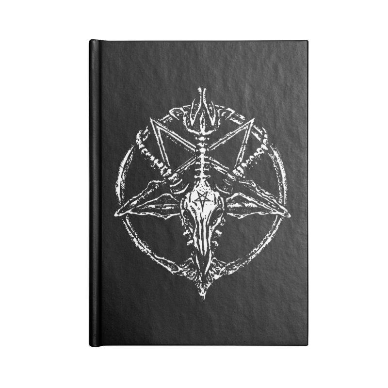 BAPHOMET_SIGIL Accessories Notebook by Sp3ktr's Artist Shop