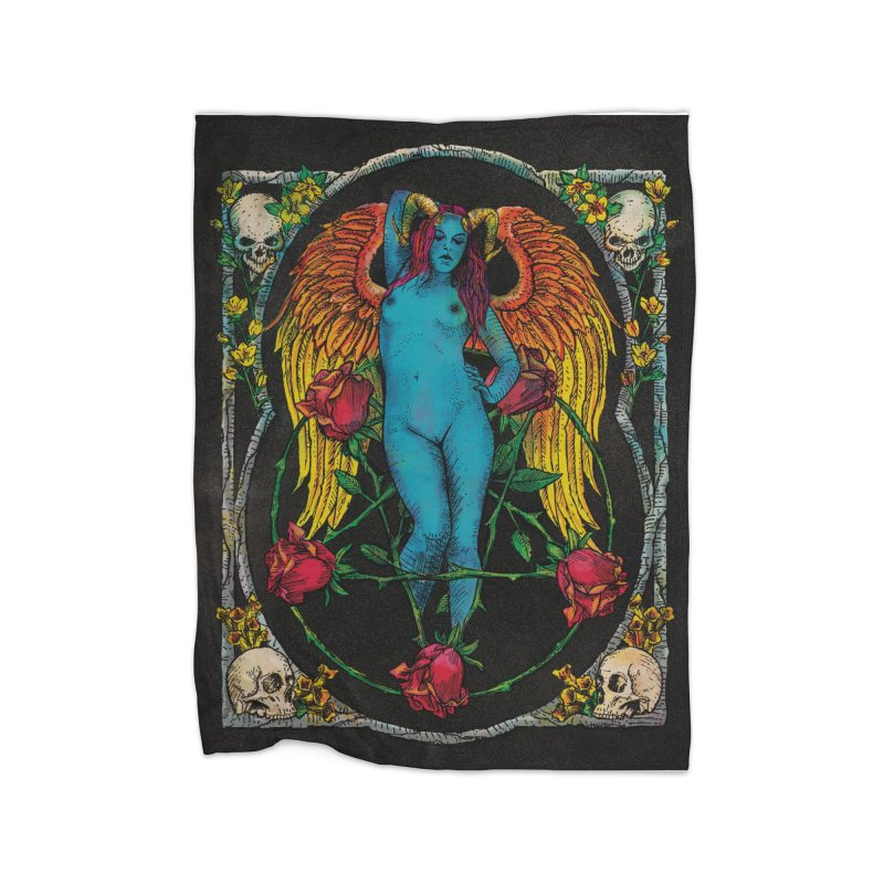 lucifera Home Blanket by Sp3ktr's Artist Shop