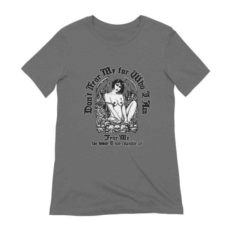 FEAR ME Women's T-Shirt by Sp3ktr's Artist Shop