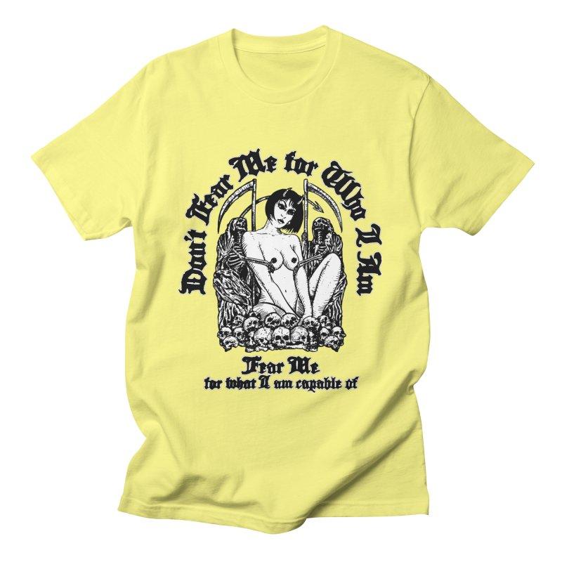FEAR ME Men's T-Shirt by Sp3ktr's Artist Shop