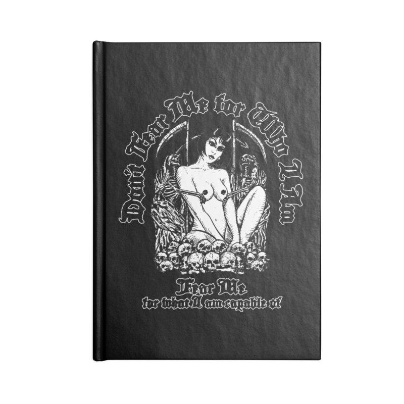 FEAR ME Accessories Notebook by Sp3ktr's Artist Shop