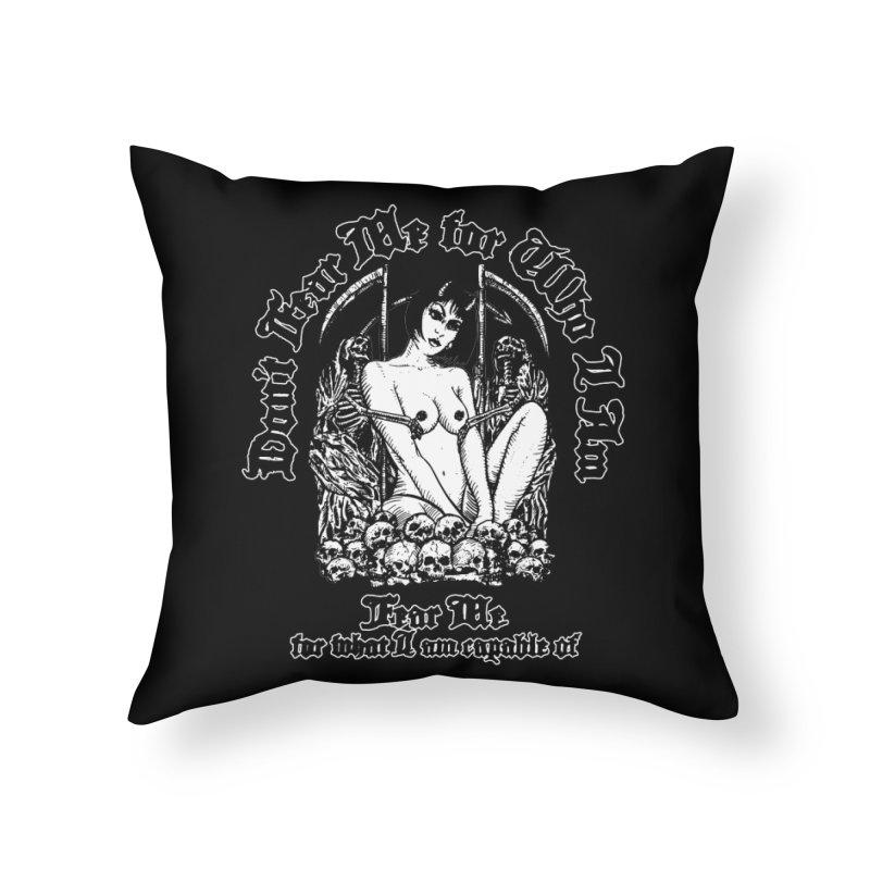 FEAR ME Home Throw Pillow by Sp3ktr's Artist Shop