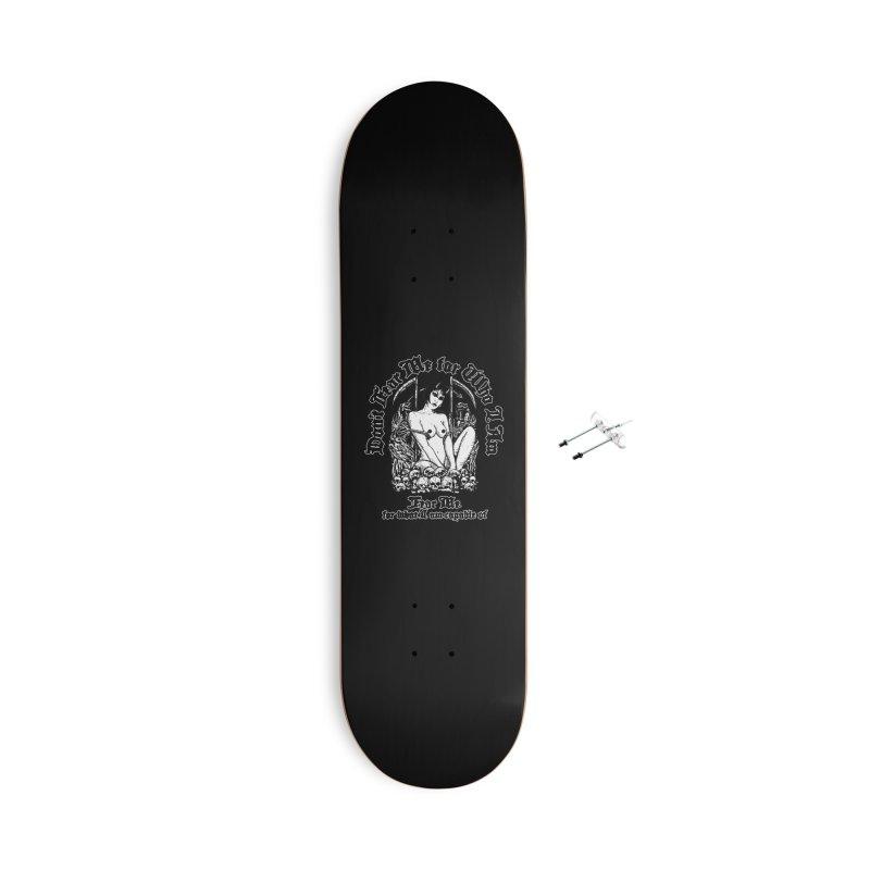 FEAR ME Accessories Skateboard by Sp3ktr's Artist Shop