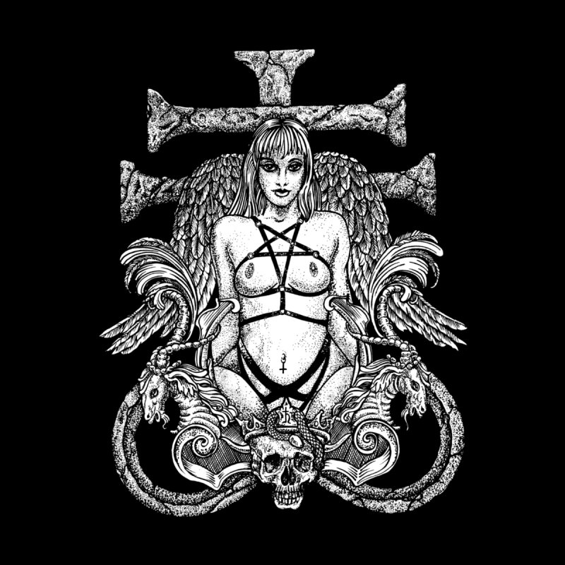 lucifer Women's Longsleeve T-Shirt by Sp3ktr's Artist Shop