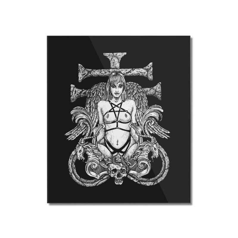 lucifer Home Mounted Acrylic Print by Sp3ktr's Artist Shop