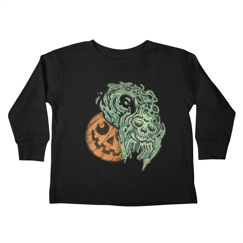 Is it Halloween Yet Kids Toddler Longsleeve T-Shirt by Sp3ktr's Artist Shop
