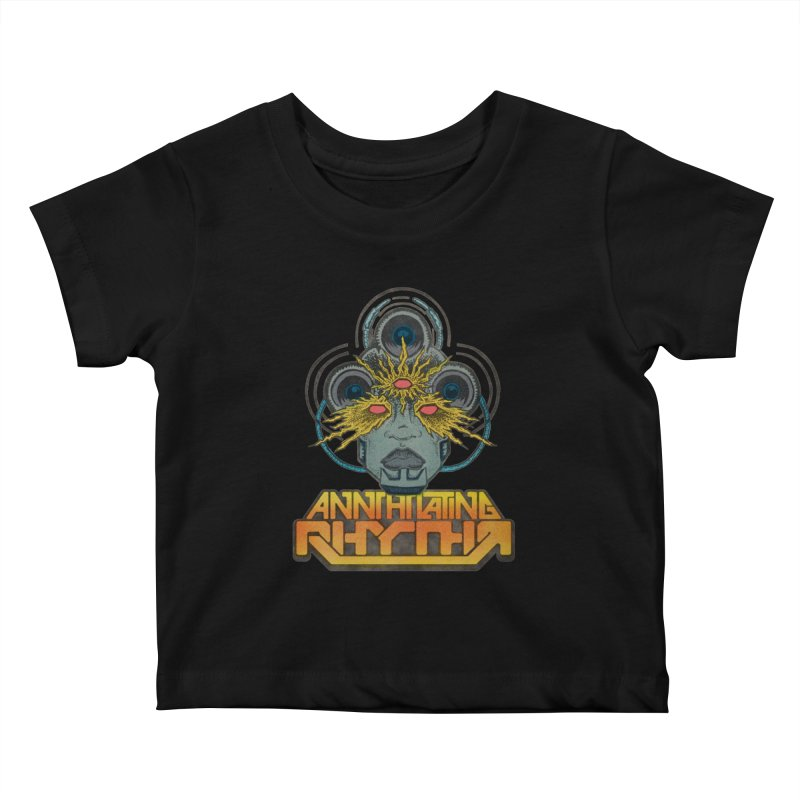 Annihilating Rythm Kids Baby T-Shirt by Sp3ktr's Artist Shop
