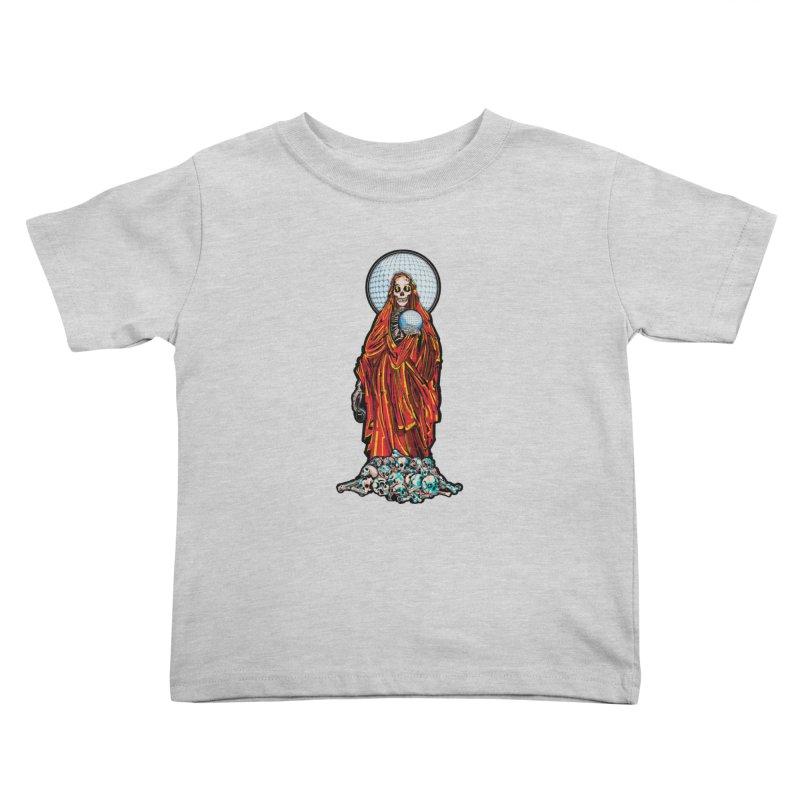 Santa Muerte The Disco Destroyer Kids Toddler T-Shirt by Sp3ktr's Artist Shop
