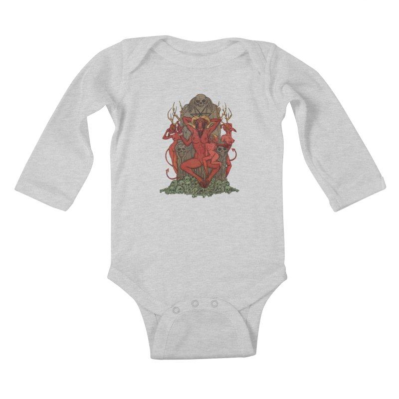 Satans little helpers Kids Baby Longsleeve Bodysuit by sp3ktr's Artist Shop